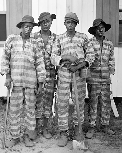 Chain gang in 1915